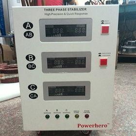 15KVA three phase servo motor stabilizer AVR / aut from China (mainland)
