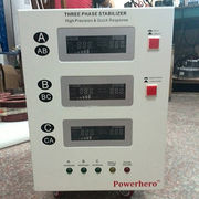 China 15KVA three phase servo motor stabilizer AVR autom