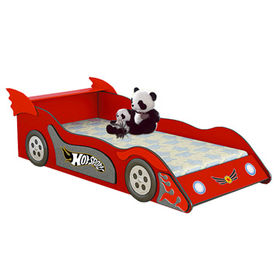 2016 New design wooden cars toddler bed for sale W08A072