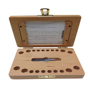 rectangular wooden tooth collecting box from China (mainland)