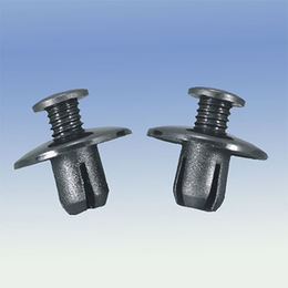 Plastic black retaining car clip from Ganzhou Heying Universal Parts Co.,Ltd