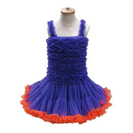 Girls' party dress from Juxian Xindi Industry Trade Co,LTD