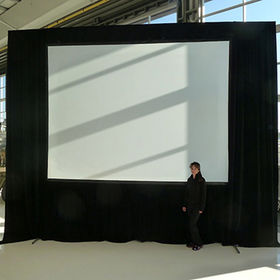 China 4:3 200 Inch Fast Fold Projector Screen for Large Event