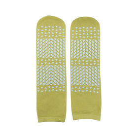 Patient Slipper, Yellow, With Anti-Slip Trend, 48 Pairs Per Case from Everfaith International (Shanghai) Co. Ltd