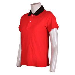Macau SAR Women's button T shirts