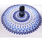 Customized printed round beach towels from China (mainland)