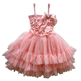 Girls' party dress, perfect for any occasion, flower girl/promotional and birthday parties or photos from Juxian Xindi Industry Trade Co,LTD