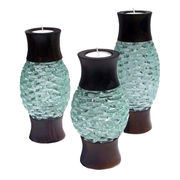 Candle holders set from Indonesia