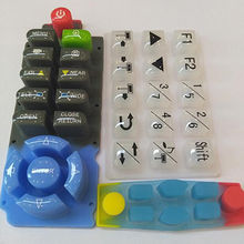 China Conductive silicone rubber keypad