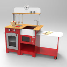 China Children's home play wooden kitchens