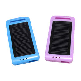 Solar portable extra battery charger from China (mainland)