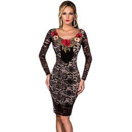 Black Lace Dress from China (mainland)