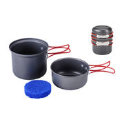 2Pcs Camping Cookware Set from Hong Kong SAR