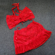 Teddy, made of lace, available size of S, M, L, XL, accept customized from Meimei Fashion Garment Co. Ltd