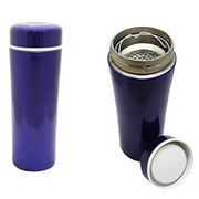 Hong Kong SAR Vacuum Flask with Stainless Steel Housing & Tea Interval. Volume of 300ml