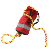 Hong Kong SAR Rescue Throw Bag with 15 Meters of 9mm Cord. Packaging in Nylon Bag.