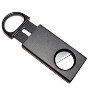 Hong Kong SAR Slide-Cutting Cigar Cutter with ABS Plastic Handle. Length of 8.5 cm.