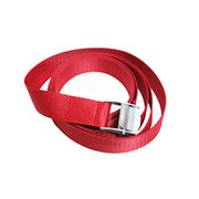 Hong Kong SAR High Quality Camp Lock Strap with Polyester Fabric Body & Zinc Alloy Buckle. Length of 6 Feet.