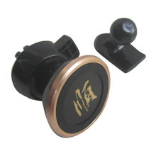 China Magnetic car mount holder working