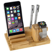 Bamboo Wood Charge Dock Station from China (mainland)