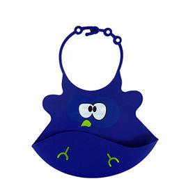 China Adjustable Plastics Baby Bib