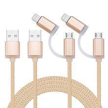 Lighting + Micro USB Cable