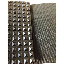 china black pyramid design acid resistant indoor antislip gym rubber flooring sheet rolls