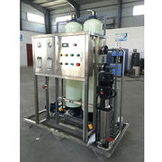 China RO water treatment equipment, glass steel with capacity of 450L/hour pure water
