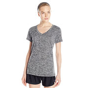 Ladies' V-neck Short Sleeves Athletic Shirts