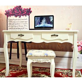 Wooden bedroom vanity