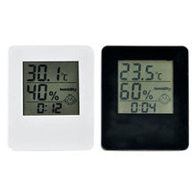 China LCD thermometer & hygrometer monitor with comfort display