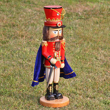 China 2016 Brand new fashion decorations wooden Christmas nutcrackers W02A250