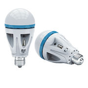 China 9W A80 LED emergency AC/DC bulb