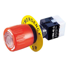China Diameter 16mm Emergency Stop Switches