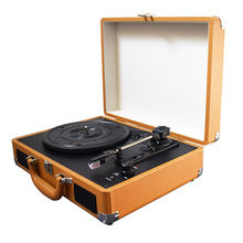 Retro 3 Speed Suitcase Turntable Record Player from China (mainland)