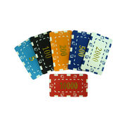 Casino chips from China (mainland)