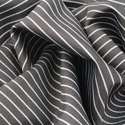 UV-Cut and Wicking Fabric in Full Dull Poly Stripe Jersey
