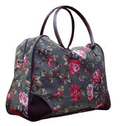 600D Sports Duffel Bag with Flower Print from SHANGHAI PROMO COMPANY LIMITED