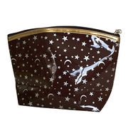 Brown star moon cosmetic bags from SHANGHAI PROMO COMPANY LIMITED