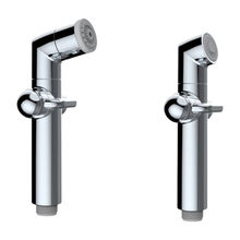 Portable bidet, JL003 uses faucet valve inside, long lifespan as faucets, high quality and durable from Xiamen Soothingware Sanitary Co.,Ltd.