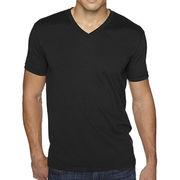 High quality polyester plain v neck t shirts for men,custom design,logo,size,label,color are welcome