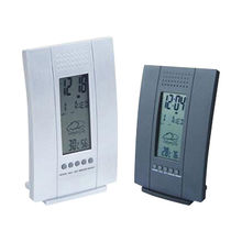 China Digital LCD Weather Station Alarm Clock