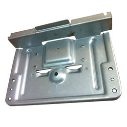 China Stamped metal parts, zinc-plated, press stamping, steel sheet
