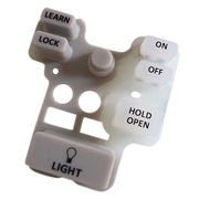 China Silicone pressed key pad