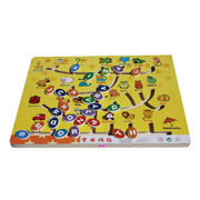 China Children's Puzzle, Made of EVA, Various Shapes and Colors are Available