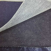 Indigo french terry knitted denim fabric from Ningbo Nanyan Import & Export Co. Ltd