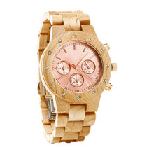 China Custom design OEM wooden watch