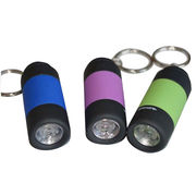 China Flashlight USB flash drive, 512MB to 32GB, customized logos and packing designs are welcome