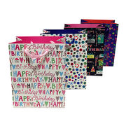 Wholesale Happy Birthday Paper Gift Bag
