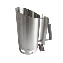 China Stainless Steel BBQ Charcoal Chimney Starter